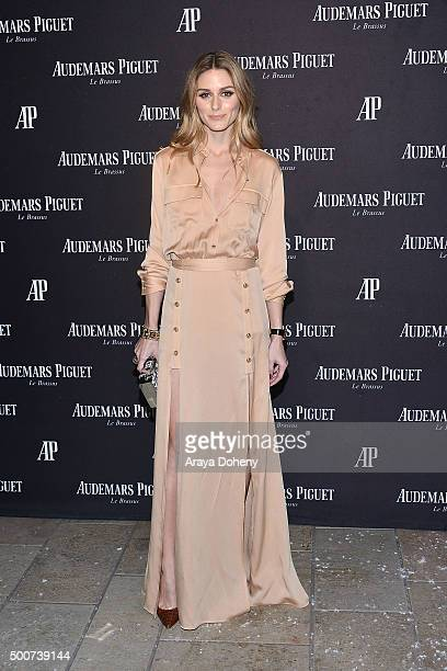 Olivia Palermo attends the Audemars Piguet grand opening of Rodeo Drive Boutique at Audemars Piguet on December 9, 2015 in Beverly Hills, California.
