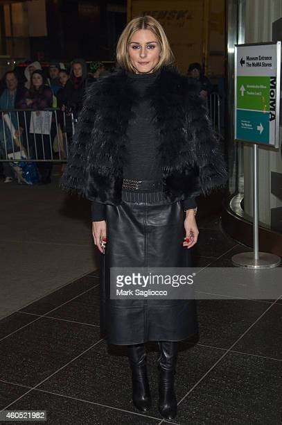 Olivia Palermo attends the Big Eyes New York Premiere at the Museum of Modern Art on December 15 2014 in New York City