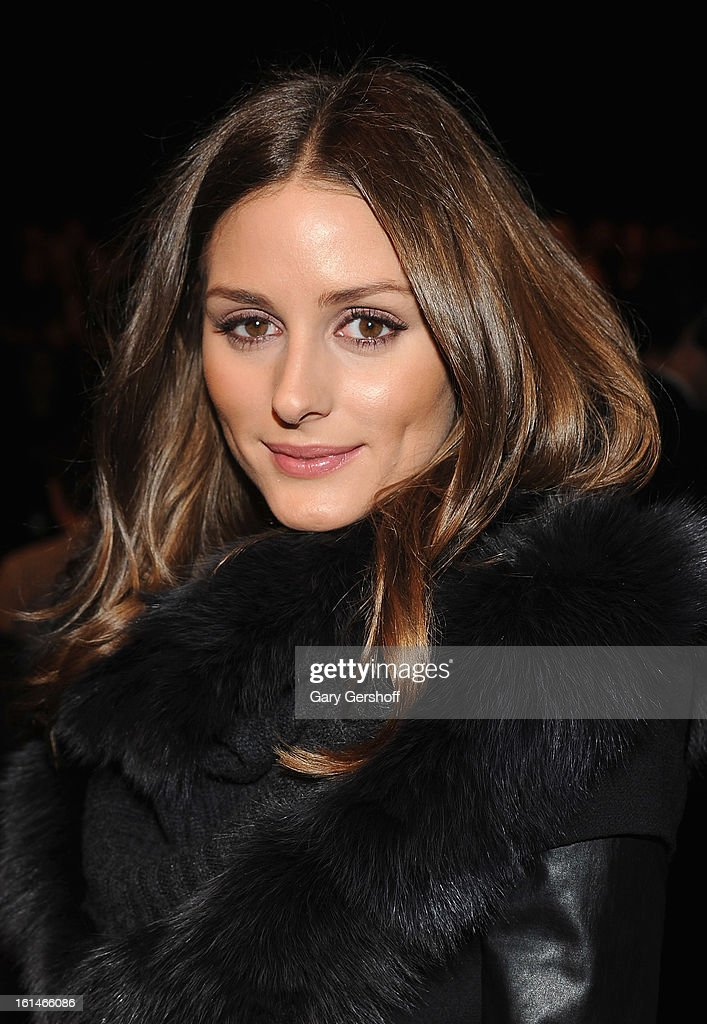Olivia Palermo attends the Carolina Herrera fashion show during Fall 2013 Mercedes-Benz Fashion Week at The Theatre at Lincoln Center on February 11, 2013 in New York City.