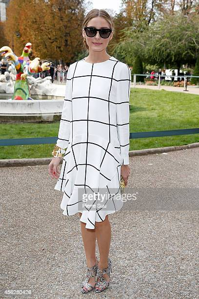 Olivia Palermo attends the Chloe show as part of the Paris Fashion Week Womenswear Spring/Summer 2015 on September 28 2014 in Paris France