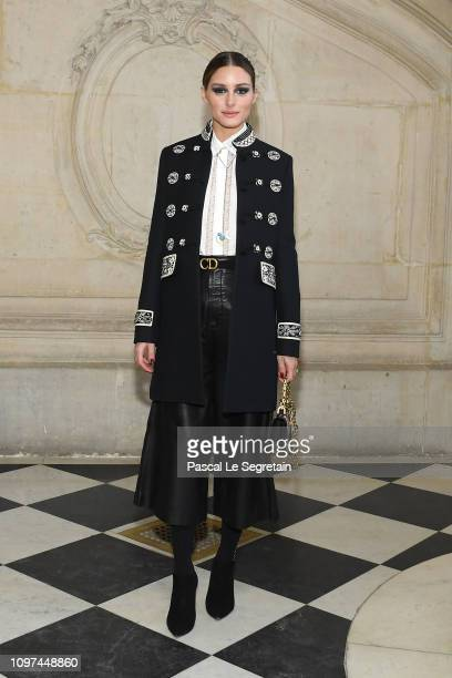 Olivia Palermo attends the Christian Dior Haute Couture Spring Summer 2019 show as part of Paris Fashion Week on January 21, 2019 in Paris, France.