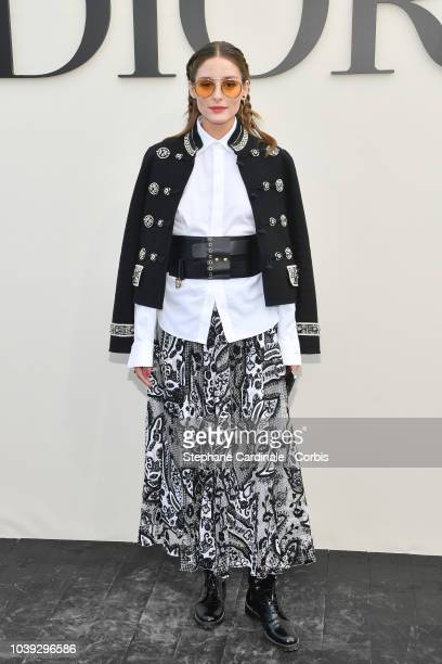 Olivia Palermo attends the Christian Dior show as part of the Paris Fashion Week Womenswear Spring/Summer 2019 on September 24 2018 in Paris France