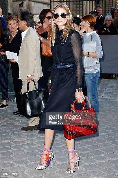 Olivia Palermo attends the Christian Dior show as part of the Paris Fashion Week Womenswear Spring/Summer 2015 on September 26 2014 in Paris France