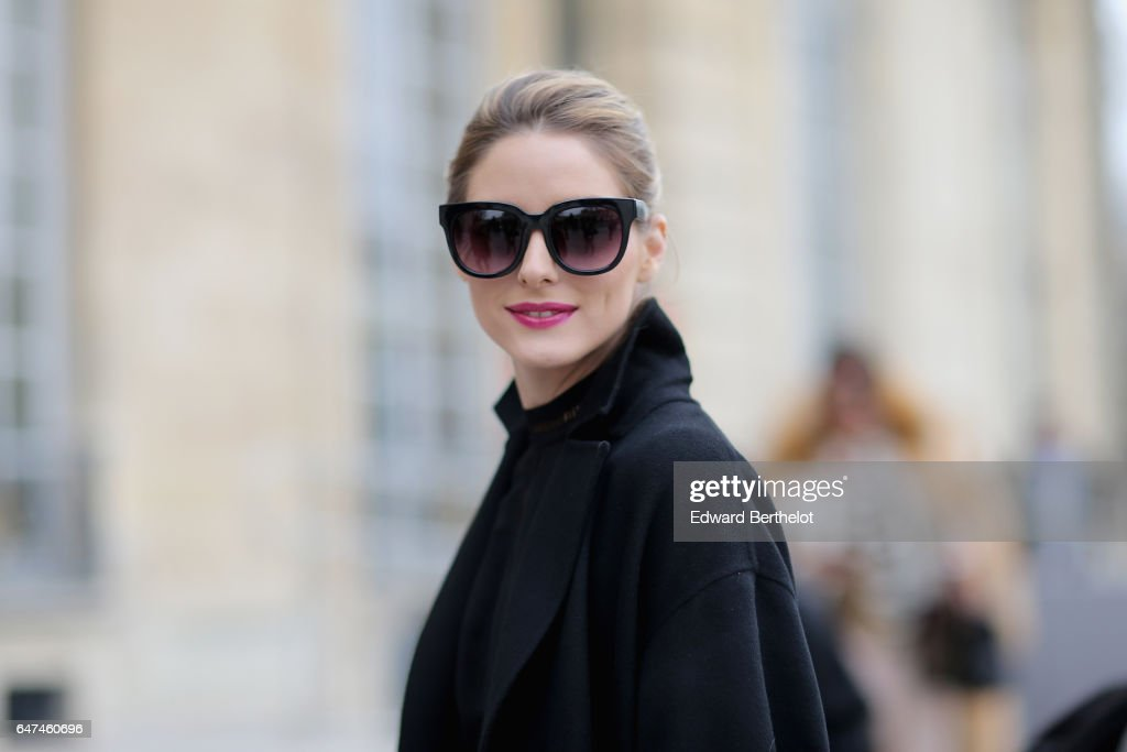 Olivia Palermo attends the Christian Dior show as part of the Paris Fashion Week Womenswear Fall/Winter 2017/2018 on March 3, 2017 in Paris, France.