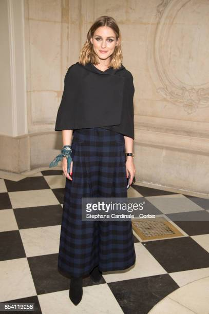 Olivia Palermo attends the Christian Dior show as part of the Paris Fashion Week Womenswear Spring/Summer 2018 at on September 26 2017 in Paris France