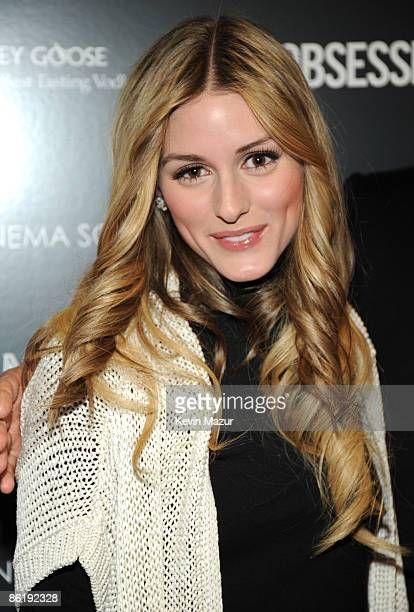 Olivia Palermo attends the Cinema Society and MCM screening of Obsessed at the School of Visual Arts on April 23 2009 in New York City