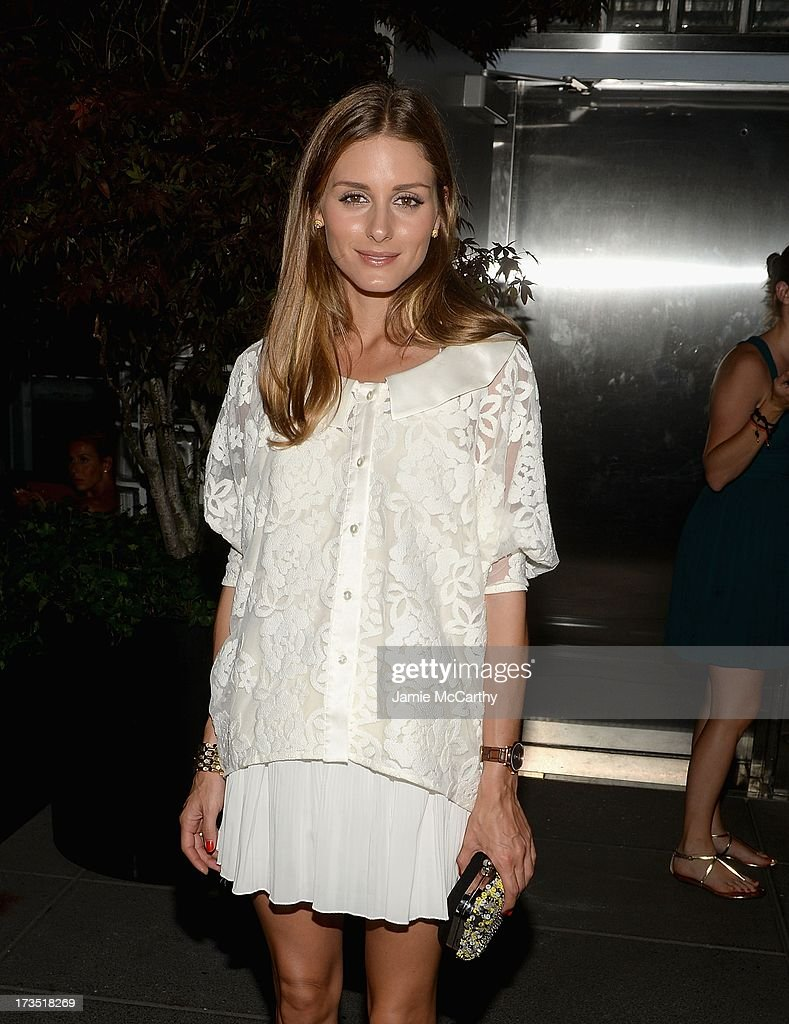 Olivia Palermo attends The Cinema Society & Brooks Brothers Host A Screening Of Lionsgate And Roadside Attractions' 'Girl Most Likely' After Party at Hotel Americano on July 15, 2013 in New York City.