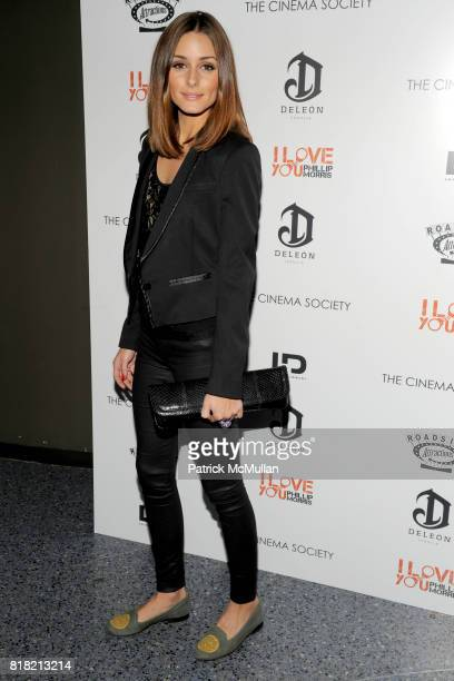Olivia Palermo attends THE CINEMA SOCIETY DELEON Tequila host a screening of I LOVE YOU PHILLIP MORRIS at SVA Theater on November 22 2010 in New York...
