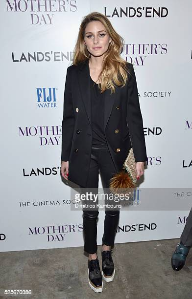 Olivia Palermo attends The Cinema Society with Lands' End screening of Open Road Films' 'Mother's Day' at Metrograph on April 28 2016 in New York City