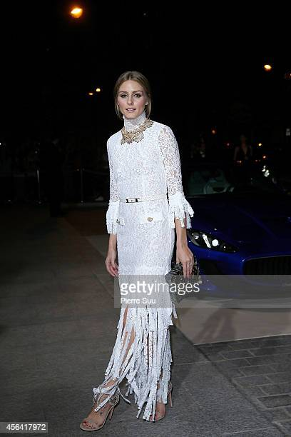 Olivia Palermo attends the CR Fashion Book Issue N°5 launch party as part of the Paris Fashion Week Womenswear Spring/Summer 2015 on September 30...