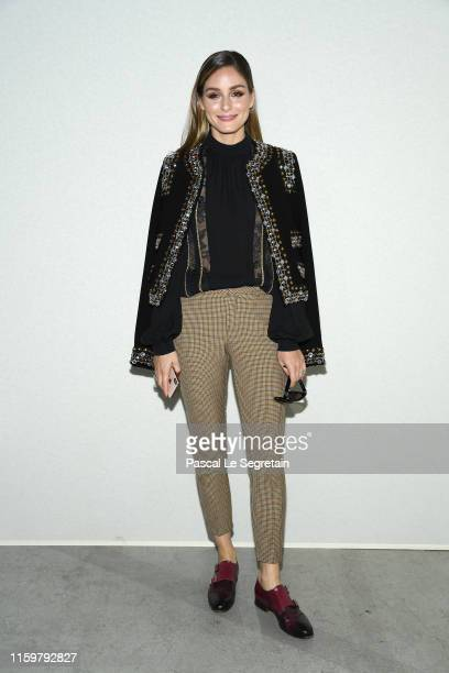 Olivia Palermo attends the Elie Saab Haute Couture Fall/Winter 2019 2020 show as part of Paris Fashion Week on July 03 2019 in Paris France