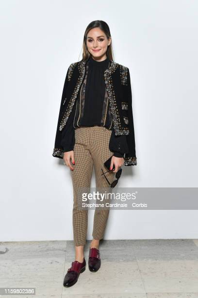 Olivia Palermo attends the Elie Saab Haute Couture Fall/Winter 2019 2020 show as part of Paris Fashion Week on July 03, 2019 in Paris, France.