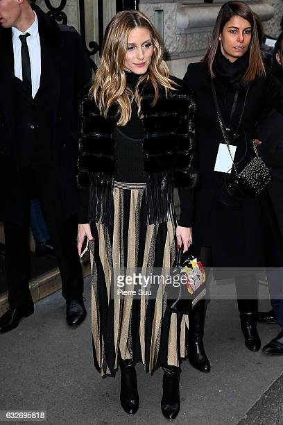 Olivia Palermo attends the Elie Saab Haute Couture Spring Summer 2017 show as part of Paris Fashion Week on January 25 2017 in Paris France