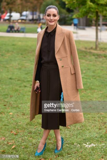 Olivia Palermo attends the Elie Saab Womenswear Spring/Summer 2020 show as part of Paris Fashion Week on September 28, 2019 in Paris, France.