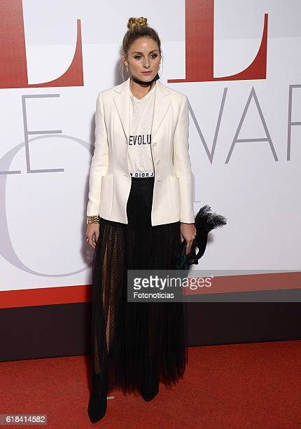 Olivia Palermo attends the ELLE 30th anniversay party at the Circulo de Bellas Artes on October 26, 2016 in Madrid, Spain.