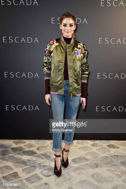 Olivia Palermo attends the ESCADA Residency as part of the Paris Fashion Week Womenswear Fall/Winter 2019/2020 on February 27, 2019 in Paris, France.