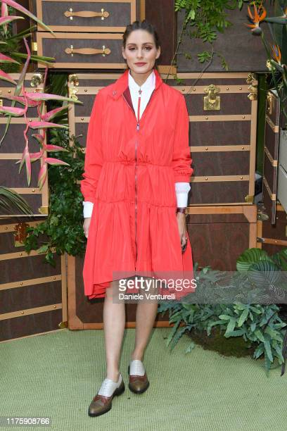 Olivia Palermo attends the Etro fashion show during the Milan Fashion Week Spring/Summer 2020 on September 20 2019 in Milan Italy