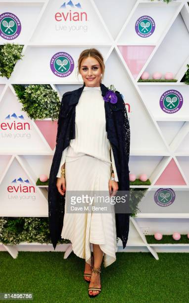 Olivia Palermo attends the evian Live Young suite during Wimbledon 2017 on July 15 2017 in London England