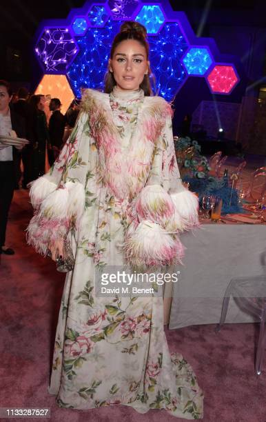 Olivia Palermo attends the Fashion Trust Arabia Prize awards ceremony on March 28 2019 in Doha Qatar