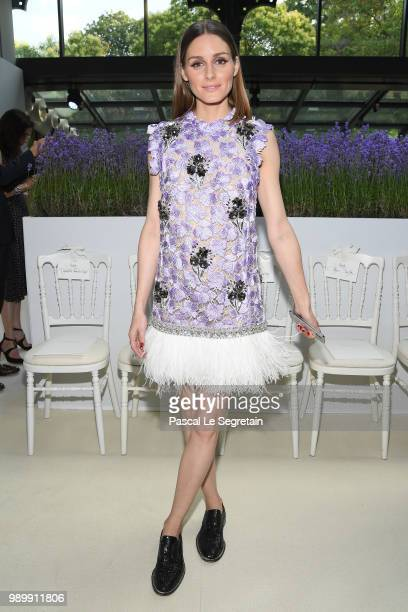 Olivia Palermo attends the Giambattista Valli Haute Couture Fall Winter 2018/2019 show as part of Paris Fashion Week on July 2 2018 in Paris France