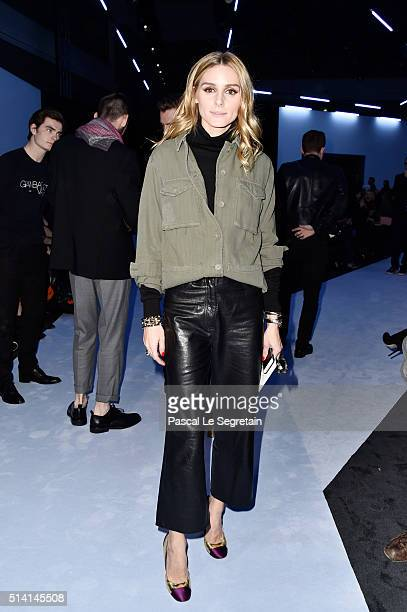Olivia Palermo attends the Giambattista Valli show as part of the Paris Fashion Week Womenswear Fall/Winter 2016/2017 on March 7 2016 in Paris France