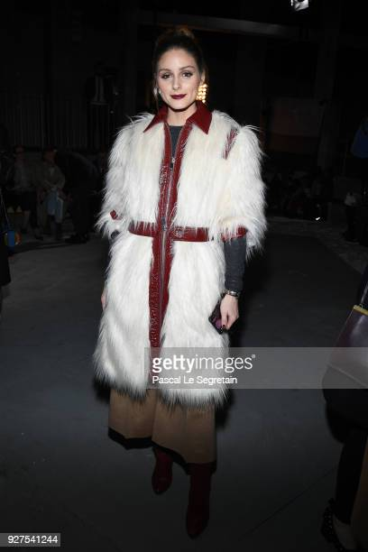 Olivia Palermo attends the Giambattista Valli show as part of the Paris Fashion Week Womenswear Fall/Winter 2018/2019 on March 5 2018 in Paris France