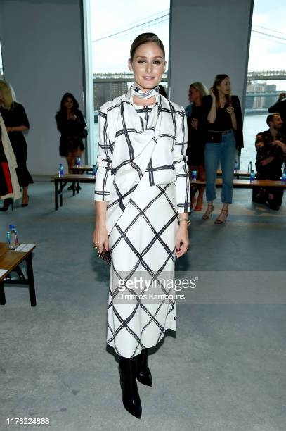 Olivia Palermo attends the Jason Wu Collection front row during New York Fashion Week The Shows at Pier 17 on September 08 2019 in New York City