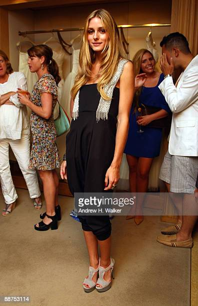 Olivia Palermo attends the Jodi Della Femina book release celebration For By Invitation Only at Vera Wang Bridal House on June 29 2009 in New York...