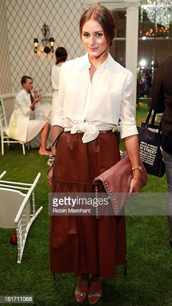 Olivia Palermo attends the Kuning Spring 2013 presentation at the Empire Hotel on September 10 2012 in New York City