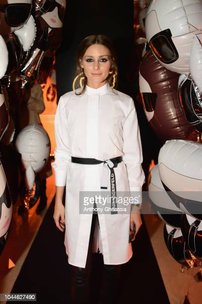 Olivia Palermo attends the launch of the Karl x Kaia collaboration capsule collection on October 2 2018 in Paris France