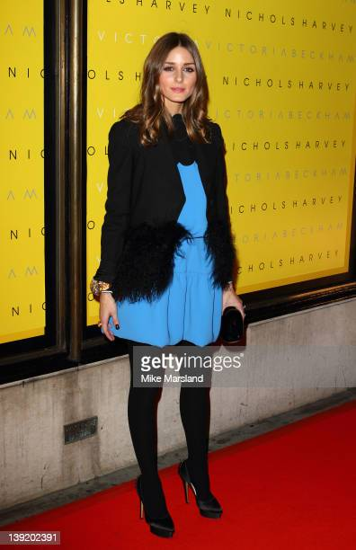 Olivia Palermo attends the launch of Victoria Beckham collection at Harvey Nichols on February 17 2012 in London England