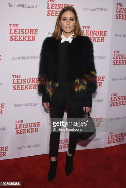 Olivia Palermo attends 'The Leisure Seeker' New York Screening at AMC Loews Lincoln Square on January 11 2018 in New York City