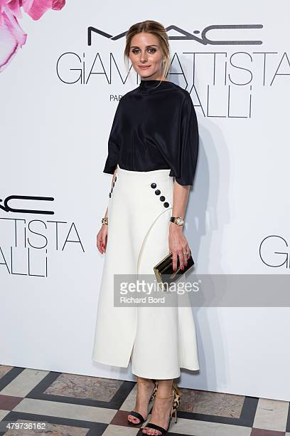 Olivia Palermo attends the MAC Cosmetics Giambattista Valli Floral Obsession Ball at Opera Garnier on July 6 2015 in Paris France