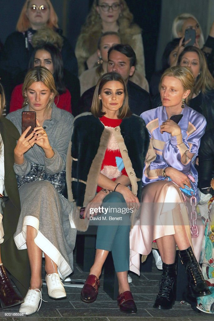 Mary Katrantzou - Front Row - LFW February 2018