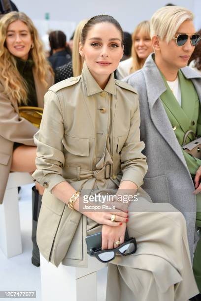 Olivia Palermo attends the Max Mara fashion show on February 20, 2020 in Milan, Italy.