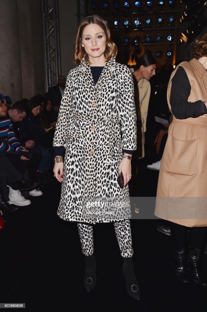 Max Mara - Front Row - Milan Fashion Week Fall/Winter 2018/19