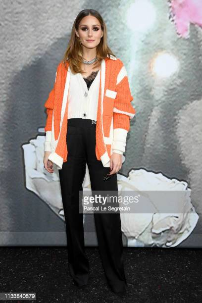 Olivia Palermo attends the Miu Miu show as part of the Paris Fashion Week Womenswear Fall/Winter 2019/2020 on March 05, 2019 in Paris, France.