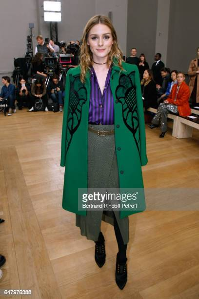 Olivia Palermo attends the Nina Ricci show as part of the Paris Fashion Week Womenswear Fall/Winter 2017/2018 on March 4 2017 in Paris France