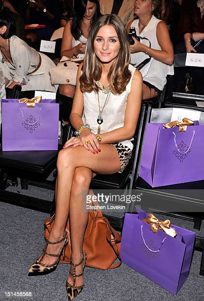 Olivia Palermo attends the Noon By Noor Spring 2013 fashion show during MercedesBenz Fashion at The Studio at Lincoln Center on September 7 2012 in...