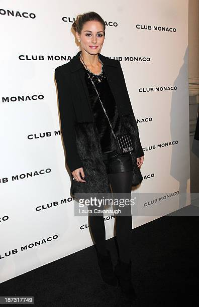 Olivia Palermo attends the opening celebration of Club Monoco's Fifth Avenue Flagship at Club Monaco Fifth Avenue on November 7 2013 in New York City
