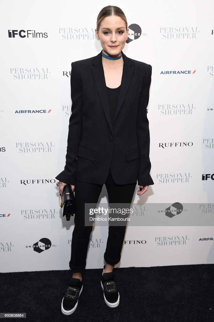 Olivia Palermo attends the 'Personal Shopper' premiere at Metrograph on March 9, 2017 in New York City.
