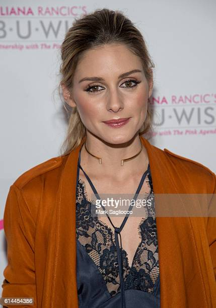 Olivia Palermo attends The Pink Agenda 2016 Gala at Three Sixty on October 13 2016 in New York City