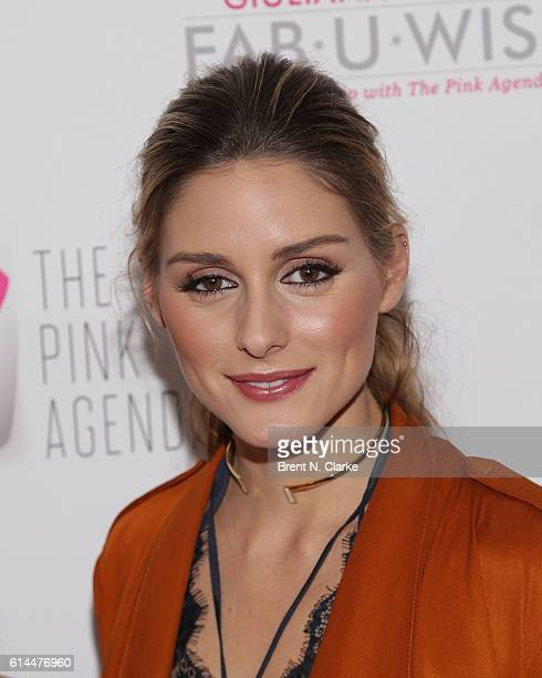 Olivia Palermo attends The Pink Agenda's 2016 Gala held at Three Sixty on October 13 2016 in New York City