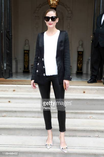 Olivia Palermo attends the RalphRusso Haute Couture Fall/Winter 2019 2020 show as part of Paris Fashion Week on July 01 2019 in Paris France