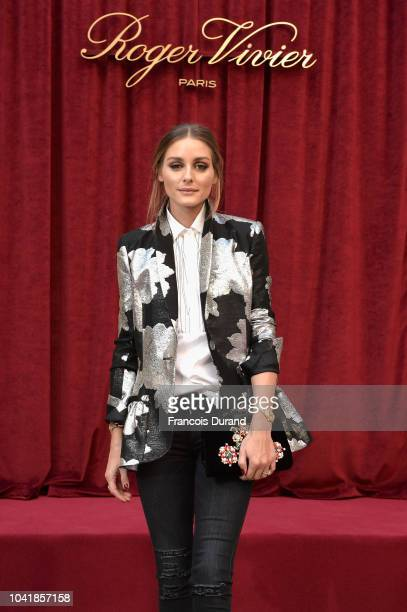 Olivia Palermo attends the Roger Vivier Presentation Spring/Summer 2019 during Paris Fashion Week on September 27 2018 in Paris France