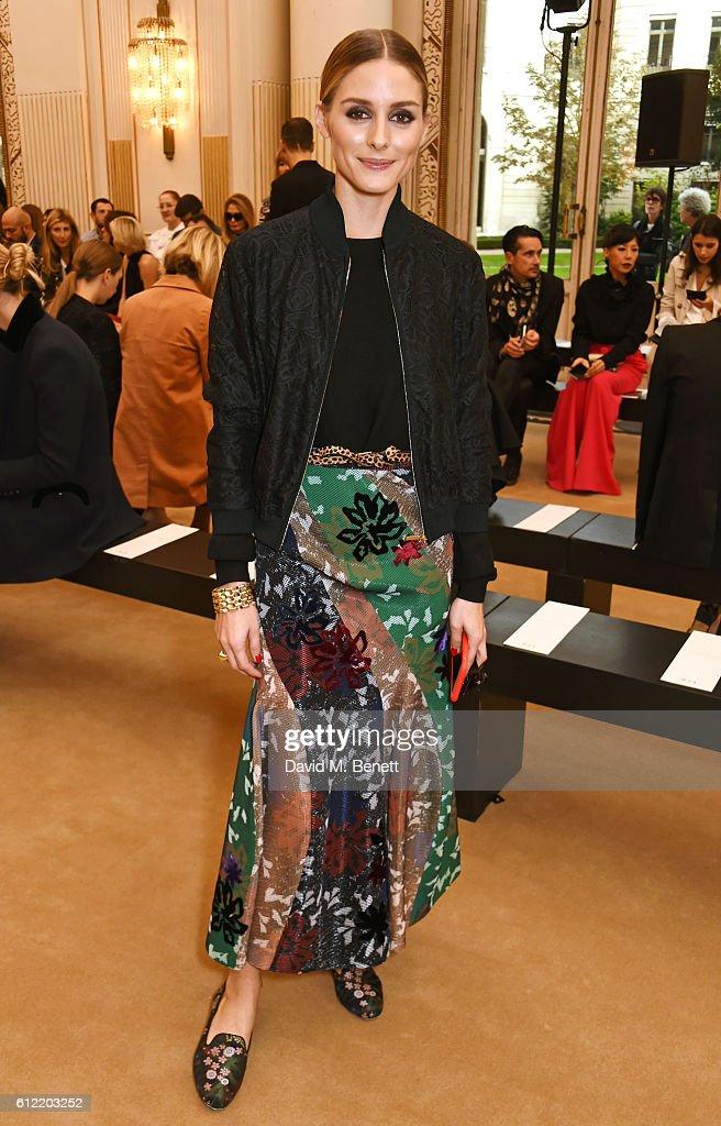Roland Mouret : Front Row - Paris Fashion Week Womenswear Spring/Summer 2017
