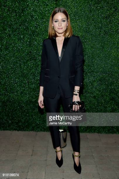 Olivia Palermo attends the RUFFINO Wines DANNIJO 'Always Sparkling' Dinner on February 6 2018 in New York City