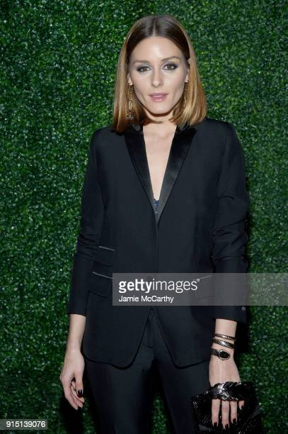 Olivia Palermo attends the RUFFINO Wines DANNIJO Always Sparkling Dinner on February 6 2018 in New York City