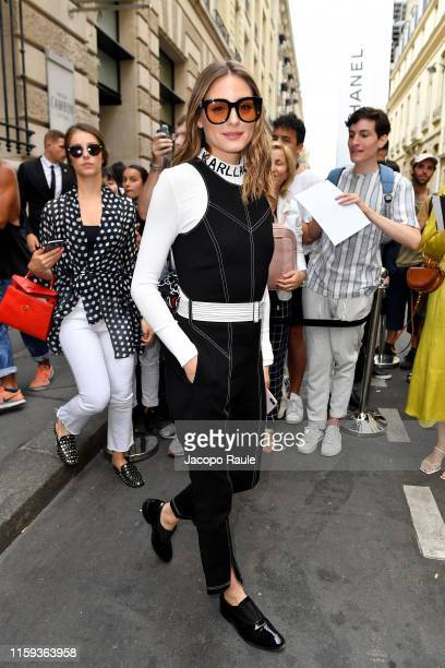 Olivia Palermo attends the Schiaparelli Haute Couture Fall/Winter 2019 2020 show as part of Paris Fashion Week on July 01, 2019 in Paris, France.