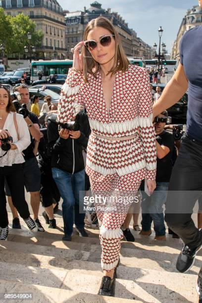 6bf9137e82 Olivia Palermo attends the Schiaparelli Haute Couture Fall/Winter 20182019  show as part of Paris